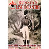 Русская линия пехоты (Мушкетеры, Наполеоновские войны 1805-1808) 1:72