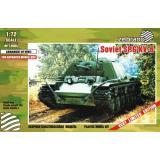 Советский танк КВ-6 1:72
