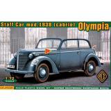 Штабная машина Olympia (кабриолет), 1938 г. 1:72