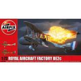 Биплан Royal Aircraft Facility BE2C 1:72