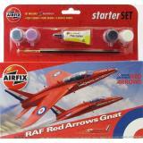 Подарочный набор с моделью самолета Red Arrows Gnat 1:72