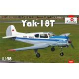 Учебно-тренировочный самолет Як-18Т 1:48