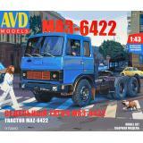 Седельный тягач МАЗ-6422, ранний 1:43