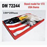 Подставка для моделей. Тема: США (180x280 мм) 1:72