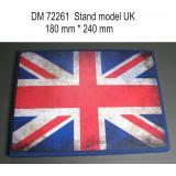 Подставка для моделей авиации. Тема:Великобритания (240x180 мм) 1:72