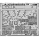 Фототравление: Шасси для самолета FG.1 Phantom (Airfix) 1:72