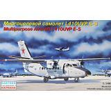 Многоцелевой самолет Л-410УВП Е-С 1:144