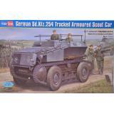 Немецкий гусеничный бронированный автомобиль разведчик Sd.Kfz.254 1:35