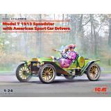 Модель T 1913 Speedster с американскими авто спортсменами