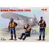 Пилоты ВВС Великобритании (1939-1945) (3 фигурки) 1:32