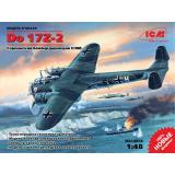 Немецкий бомбардировщик Do 17Z-2 1:48