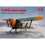 Истребитель И-153 ВВС Финляндии, ІІ МВ (зимняя модификация) 1:72