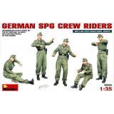 Экипаж германского самоходного орудия 1:35