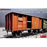 Железнодорожный крытый вагон 18 т. Тип