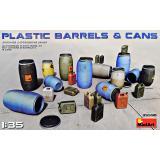 Пластиковые бочки и канистры 1:35