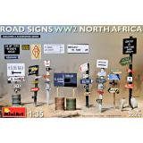 Дорожные знаки времен Второй мировой войны. (Северная Африка)