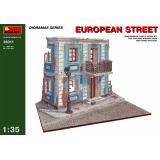 Фрагмент европейской улицы 1:35