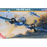 Бомбардировщик PZL-37B Los II 1:72