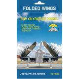 Сложенные крылья для самолетов Skyraider AD-2, AD-3, AD-4, AD-5 (все модификации) 1:72