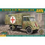 Медицинский фургон на базе 3,5т грузовика AHN 1:72