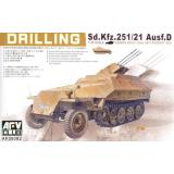 Sd.Kfz. 251/21 Ausf.D Drilling 1:35