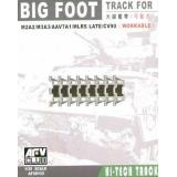 M2A2/M3A3/AAV7A1/MLRS LATE/CV90 «BIG FOOT« TRACK 1:35