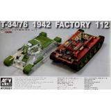 T-34/76 1942 Factory 112 with transparent turret(LIMITED) 1:35