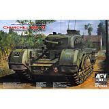 Британский пехотный танк Churchill MK VI с 75 мм пушкой MK V (Limited) 1:35