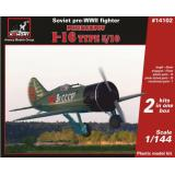 Советский истребитель Поликарпов И-16 тип 5/10 1:144