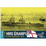 Английский эсминец HMS Grampus (G-Class), 1910 года