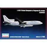 Пассажирский самолет L-1011 Tristar Stargazer & Pegasus XL rocket 1:144