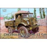 Военный грузовик Chevrolet C15A No.13 с кабиной общего обслуживания 1:72