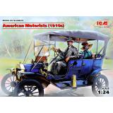Американские автолюбители (1910-е г.) 1:24