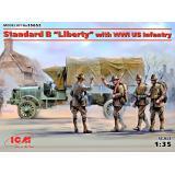 Американский грузовик Первой мировой войны Стандарт Б