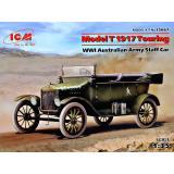 Австралийский штабный автомобиль Первой мировой войны, модель Т 1917 туринг 1:35