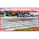 Плиты аэродромного покрытия ПАГ-14 1:72
