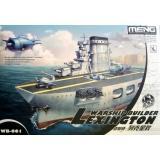 Военный корабль - Лексингтон (мультипликационное моделирование)
