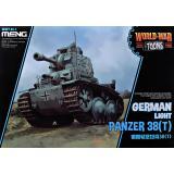 Немецкий легкий танк Panzer 38 (t) (World War Toons series)