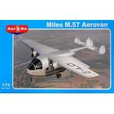 Транспортный самолет Miles M.57 Aerovan 1:72