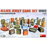 Набор канистр союзников II Мировой войны 1:35