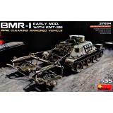Бронированная машина БМР-1 ранних выпусков с КМТ-5М 1:35