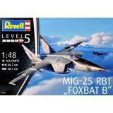Самолет-разведчик МиГ-25 РБТ Foxbat B 1:48