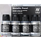 Набор Краска металлик: Металлическая панель, 4 шт.