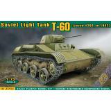 Танк T-60 выпуска завода №264 (зима 1942) 1:72
