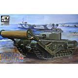 Танк Churchill Mk. IV TLC с инженерным оборудованием (Type A) 1:35