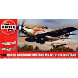 Американский истребитель North American Mustang Mk.IV 1:48