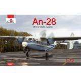 Пассажирский самолет Ан-28 Аэрофлот 1:72
