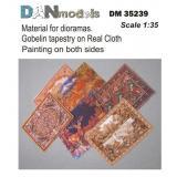 Материал для диорам: гобелены - рисунок на ткани 1:35
