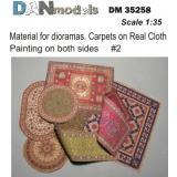 Материал для диорам: ковры - рисунок на ткани, набор 2 1:35