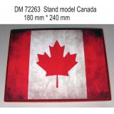 Подставка для моделей авиации. Тема: Канада (240x180 мм) 1:72